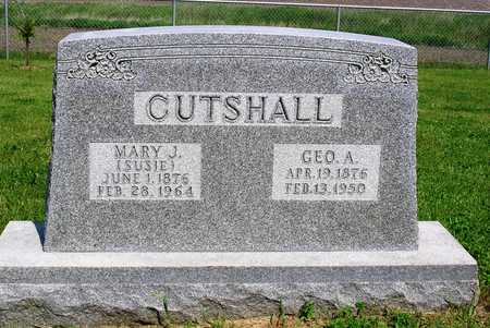 CUTSHALL, GEORGE A. - Madison County, Iowa | GEORGE A. CUTSHALL