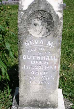 CUTSHALL, NEVA M. - Madison County, Iowa | NEVA M. CUTSHALL