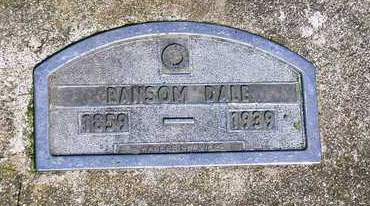 DALE, RANSOM - Madison County, Iowa | RANSOM DALE