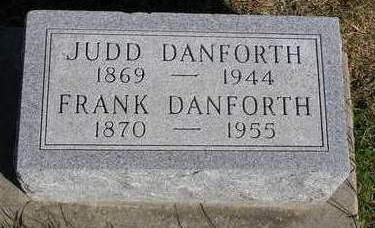 DANFORTH, GEORGE JUDSON (JUDD) - Madison County, Iowa | GEORGE JUDSON (JUDD) DANFORTH