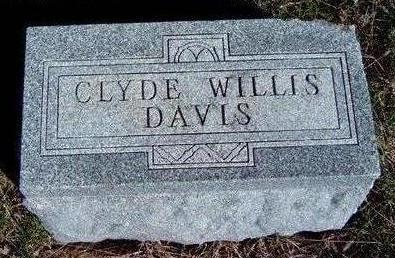 DAVIS, CLYDE WILLIS - Madison County, Iowa | CLYDE WILLIS DAVIS
