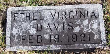 DAVIS, ETHEL VIRGINIA - Madison County, Iowa | ETHEL VIRGINIA DAVIS