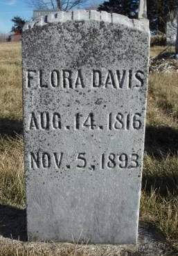 DAVIS, FLORA - Madison County, Iowa | FLORA DAVIS
