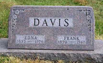 DAVIS, ROBERT FRANKLIN  (FRANK) - Madison County, Iowa | ROBERT FRANKLIN  (FRANK) DAVIS