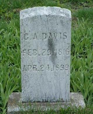 DAVIS, GEORGE A. - Madison County, Iowa | GEORGE A. DAVIS