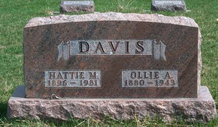DAVIS, HATTIE MAE - Madison County, Iowa | HATTIE MAE DAVIS