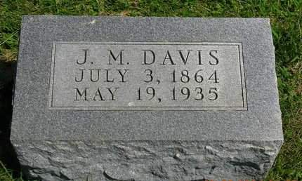 DAVIS, JOSEPH M. - Madison County, Iowa   JOSEPH M. DAVIS