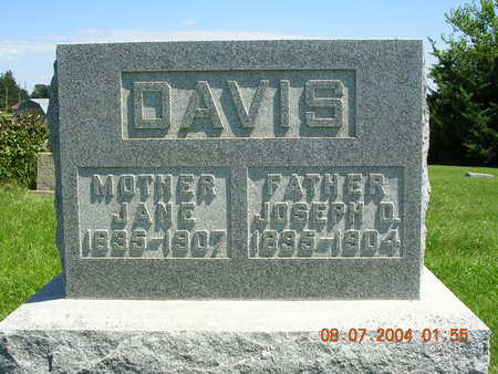 DAVIS, JANE - Madison County, Iowa | JANE DAVIS