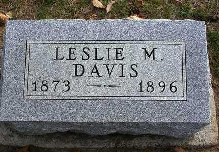 DAVIS, LESLIE MCDOWELL (MACK) - Madison County, Iowa | LESLIE MCDOWELL (MACK) DAVIS