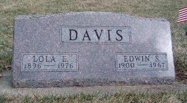 ESSICK DAVIS, LOLA ESTELLE - Madison County, Iowa | LOLA ESTELLE ESSICK DAVIS