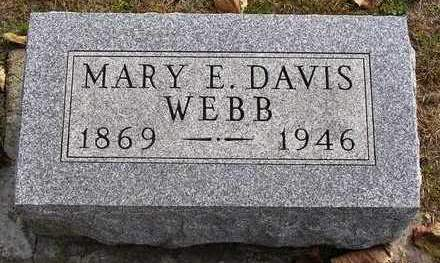 BIRCKELBAW DAVIS, MARY E. - Madison County, Iowa | MARY E. BIRCKELBAW DAVIS