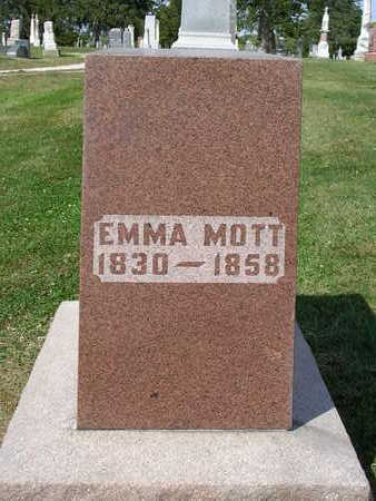 DEAN MOTT, EMMA E. - Madison County, Iowa | EMMA E. DEAN MOTT
