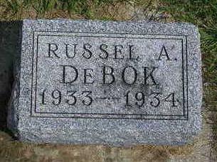 DEBOK, RUSSEL ALLEN - Madison County, Iowa | RUSSEL ALLEN DEBOK
