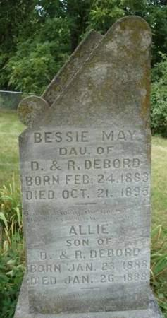 DEBORD, ALBERT (ALLIE) - Madison County, Iowa | ALBERT (ALLIE) DEBORD