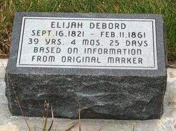 DEBORD, ELIJAH - Madison County, Iowa | ELIJAH DEBORD