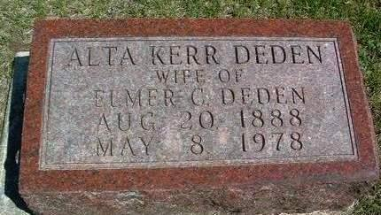 KERR, ALTA MAE - Madison County, Iowa | ALTA MAE KERR