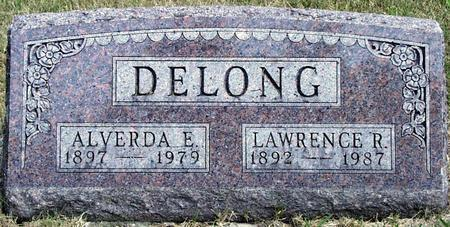 HOGG / HOGUE DELONG, ALVERDA ESTHER - Madison County, Iowa | ALVERDA ESTHER HOGG / HOGUE DELONG