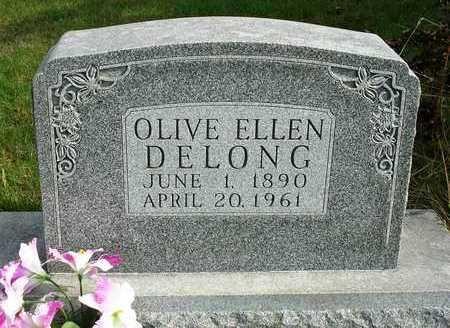 DELONG, OLIVE ELLEN - Madison County, Iowa | OLIVE ELLEN DELONG