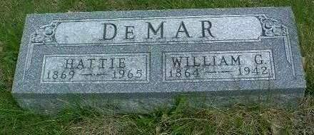DEMAR, WILLIAM GRANT - Madison County, Iowa | WILLIAM GRANT DEMAR