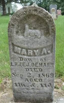DEMARR, MARY A. - Madison County, Iowa   MARY A. DEMARR