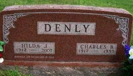 DENLY, HILDA J. - Madison County, Iowa | HILDA J. DENLY