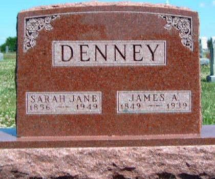 DENNEY, SARAH JANE - Madison County, Iowa | SARAH JANE DENNEY