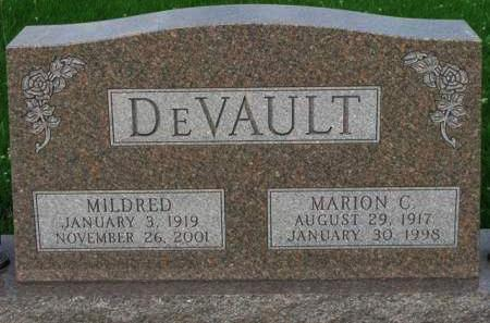 DEVAULT, MILDRED LILLIAN - Madison County, Iowa | MILDRED LILLIAN DEVAULT