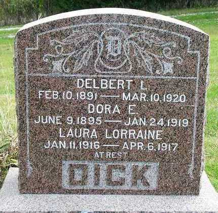 SCOTT DICK, DORA E. - Madison County, Iowa | DORA E. SCOTT DICK
