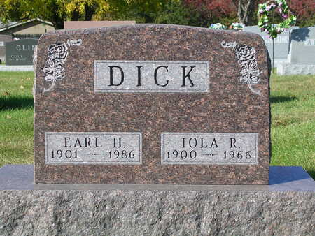 DICK, IOLA RUTH - Madison County, Iowa | IOLA RUTH DICK