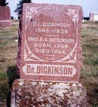 ROBY DICKINSON, FRANCES V. - Madison County, Iowa | FRANCES V. ROBY DICKINSON