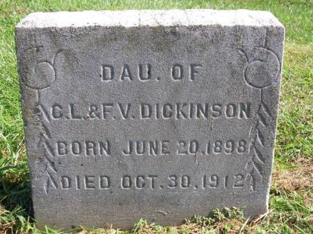 DICKINSON, MARY B. (MAYME) - Madison County, Iowa | MARY B. (MAYME) DICKINSON