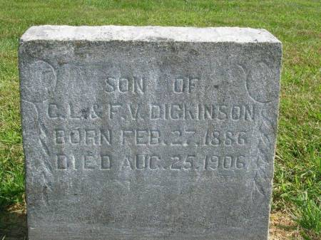 DICKINSON, ORA R. - Madison County, Iowa | ORA R. DICKINSON