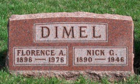 MERICAL DIMEL, FLORENCE ARETA - Madison County, Iowa | FLORENCE ARETA MERICAL DIMEL