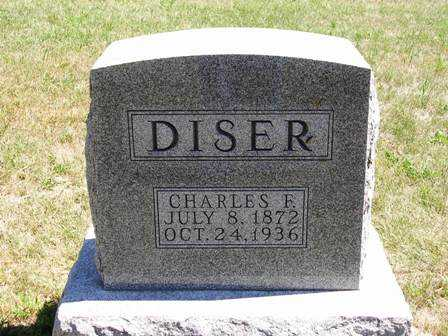 DISER, CHARLES F. - Madison County, Iowa | CHARLES F. DISER