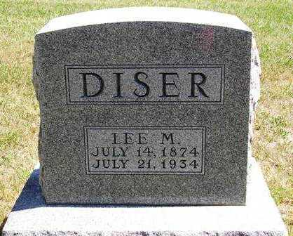 DISER, LEE M. - Madison County, Iowa | LEE M. DISER