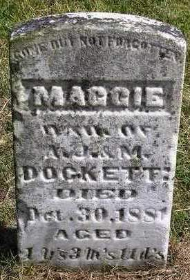 DOCKETT, MAGGIE - Madison County, Iowa | MAGGIE DOCKETT