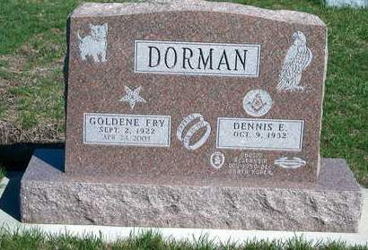FRY DORMAN, GOLDENE E. - Madison County, Iowa | GOLDENE E. FRY DORMAN