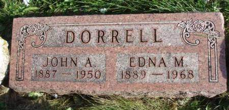 CONN DORRELL, EDNA M. - Madison County, Iowa | EDNA M. CONN DORRELL