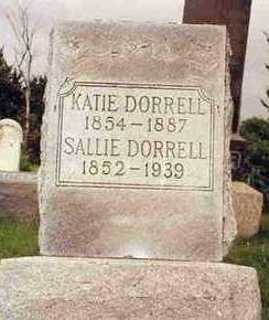 DORRELL, SARAH (SALLIE) - Madison County, Iowa | SARAH (SALLIE) DORRELL