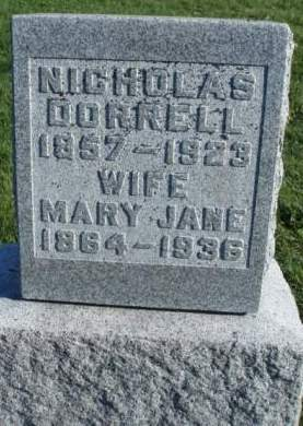 BELCHER DORRELL, MARY JANE - Madison County, Iowa | MARY JANE BELCHER DORRELL