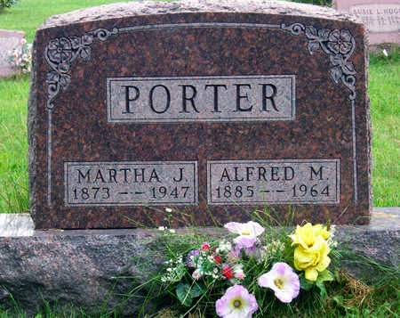 DOTSON PORTER, MARTHA JANE - Madison County, Iowa | MARTHA JANE DOTSON PORTER