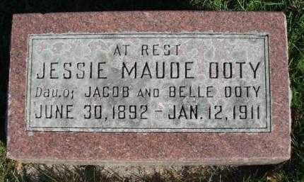 DOTY, JESSIE MAUD - Madison County, Iowa | JESSIE MAUD DOTY