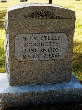 DOUGHERTY, MILHON OAKIE  (MILA) - Madison County, Iowa | MILHON OAKIE  (MILA) DOUGHERTY