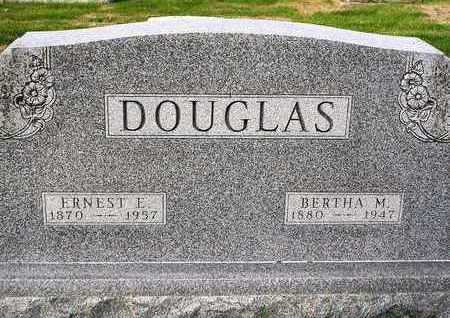 DOUGLAS, BERTHA MAE - Madison County, Iowa | BERTHA MAE DOUGLAS