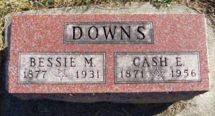 DOWNS, BESSIE MAY - Madison County, Iowa | BESSIE MAY DOWNS