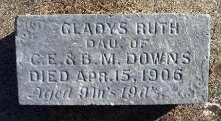 DOWNS, GLADYS RUTH - Madison County, Iowa | GLADYS RUTH DOWNS