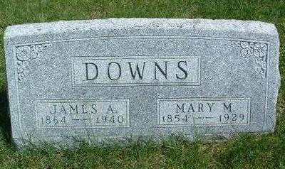 DOWNS, MARY MINERVA - Madison County, Iowa | MARY MINERVA DOWNS