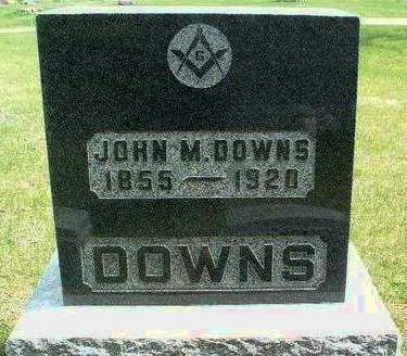 DOWNS, JOHN MILTON - Madison County, Iowa | JOHN MILTON DOWNS