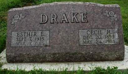 WOLFE DRAKE, ESTHER EILENE - Madison County, Iowa | ESTHER EILENE WOLFE DRAKE