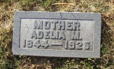 GALLUP DRURY, ADELIA MARIA - Madison County, Iowa | ADELIA MARIA GALLUP DRURY